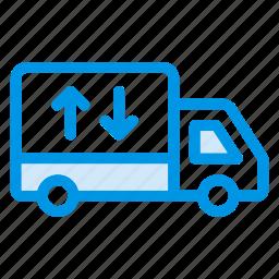 automobile, deliver, deliverytruck, shipping, transport, truck, van icon