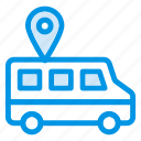 gps, location, pin, tracking, transport, travel, vehicle icon
