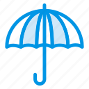 beach, protect, protection, safe, safety, umbrella icon