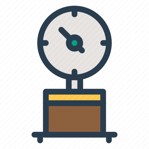 balance, luggagescale, luggageweight, machine, measure, scale, weighing icon