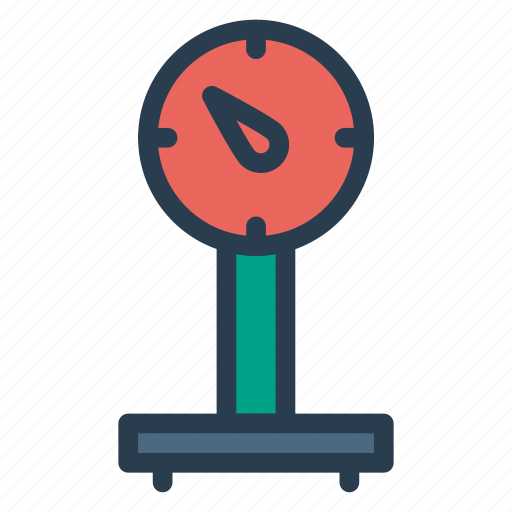 balance, luggage, machine, measure, scale, weighing, weight icon