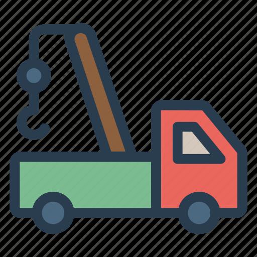 Crane, engineer, lift, lifting, machine, transport, vehicle icon - Download on Iconfinder