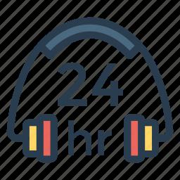 conversation, earbuds, earphone, headphone, headset, listening, music icon