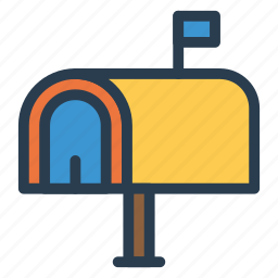 email, envelope, letter, mailbox, message, post, receivemail icon