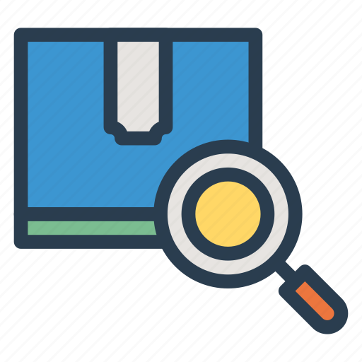 browse, document, find, glass, magnify, search, zoom icon