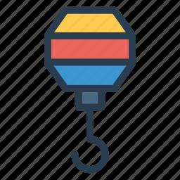 crane, equipment, fishing, hook, machine, machinery, rod icon