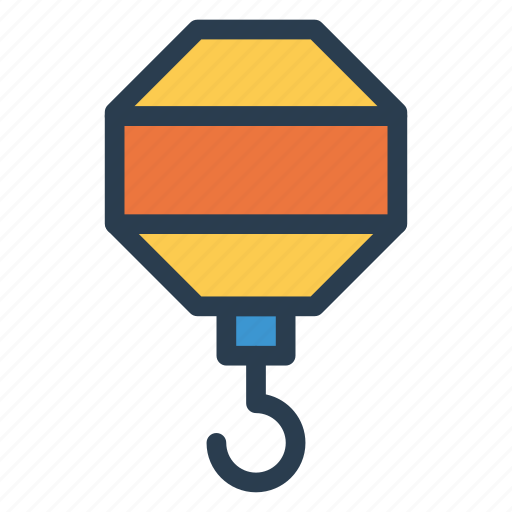 fishing, hook, lifting, liftinghook, package, shipping, transport icon