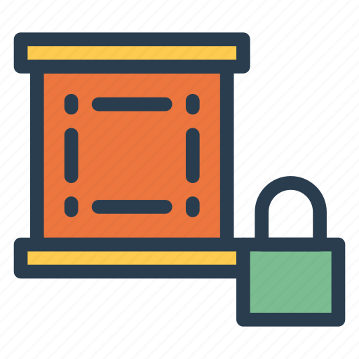 closed, dataprotection, key, lock, protection, secure, security icon