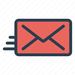 envelope, letter, mail, mailbox, message, outbox icon