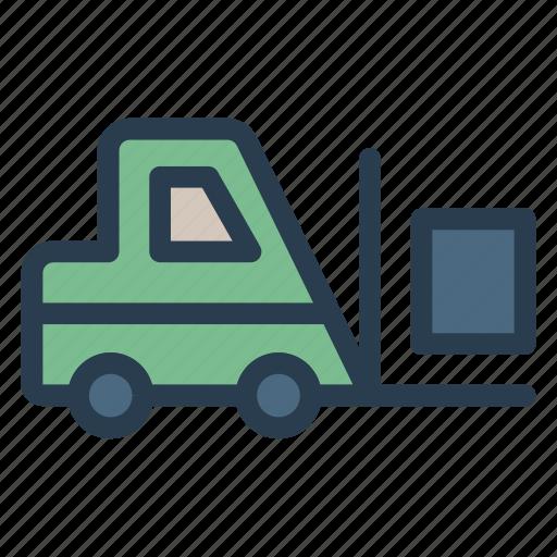 car, crane, lifter, lifting, transport, truck, vehicle icon