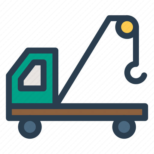 containerlifter, crane, lifter, lifting, liftingcrane, transport, vehicle icon