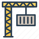 auto, crane, lifter, lifting, liftingtruck, transport, vehicle icon