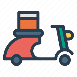 engine, motor, scooter, scooty, transport, transportation, travel icon