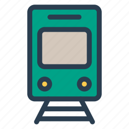 delivery, railway, shipping, train, trainstation, transport, vehicle icon