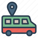 tracking, pin, travel, location, vehicle, transport, gps