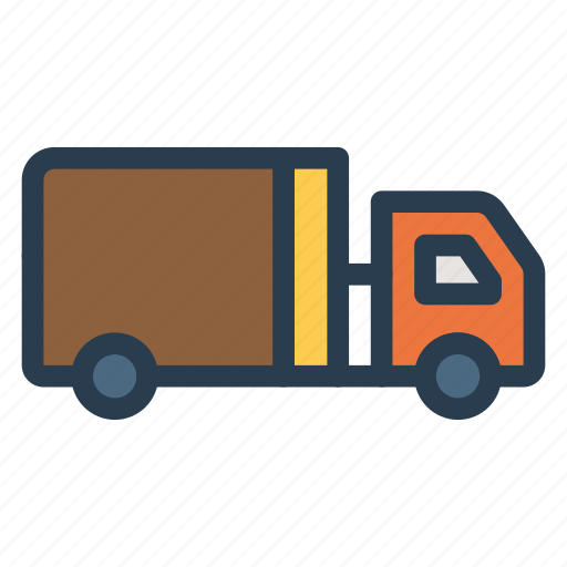 crane, deliver, delivery, package, shipping, truck, vehicle icon