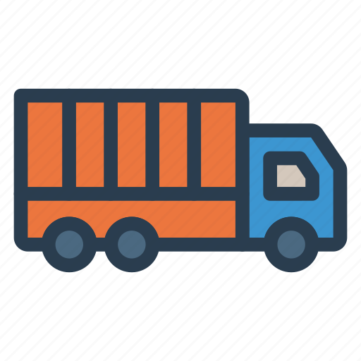 Service, deliver, shipping, delivery, truck, vehicle, transport icon