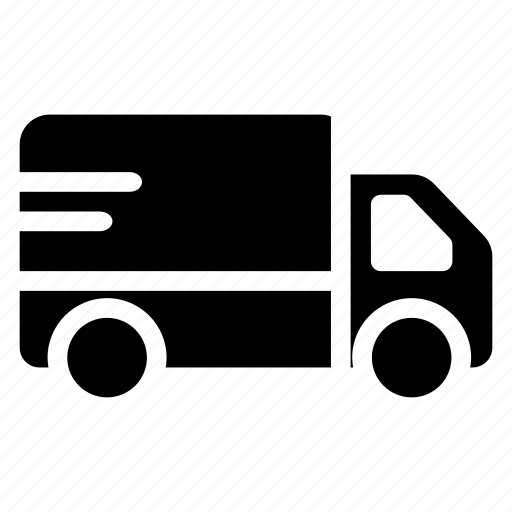 automobile, car, cargo, deliver, delivery, truck, vehicle icon