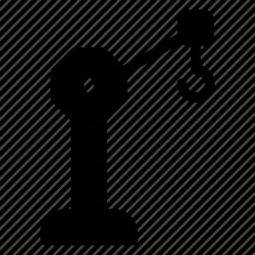 Crane, engineer, equipment, hook, machine, machinery icon - Download on Iconfinder