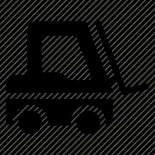 automobile, crane, lifter, machine, machinery, transport, vehicle icon