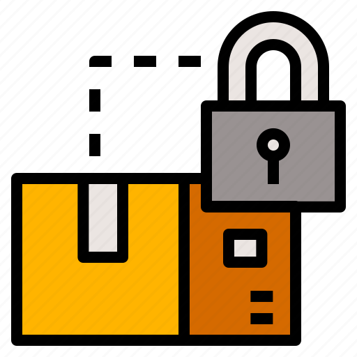box, delivery, mail, package, safe, secure, shipping icon