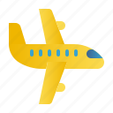 airplane, delivery, flight, logistics, package box, shipping, transport