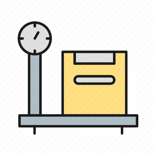 Balance, box, weight, weighting icon - Download on Iconfinder