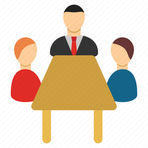 boss, business, company, management, meeting, office, team icon