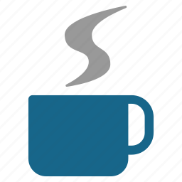 coffee break, drink, hot glass, java, pause, tea cup, vapor icon