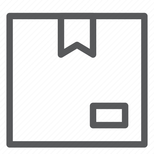 box, closed, delivery, gift, logistics, package, shipping icon