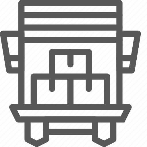 box, carry, crate, delivery, distribute, logistics, package, shipping icon
