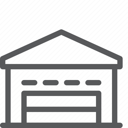 base, building, delivery, logistics, shipping, storehouse, warehouse icon