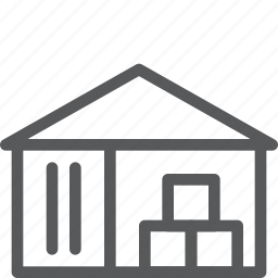 base, box, delivery, pile, shipping, stack, storehouse, warehouse icon