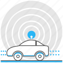 automatic, car, driverless, logistic, robot, technology, vehicles icon