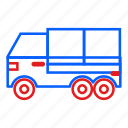 delivery, logistic, shipping, supply, transport, truck icon