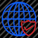 globe, international, location, logistic, transport, travel icon