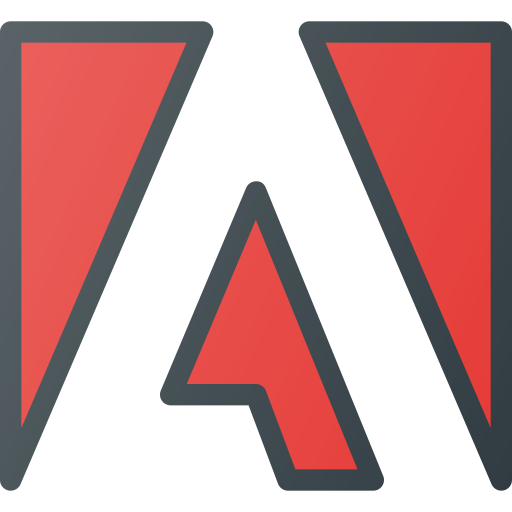 adobe, brand, brands, logo, logos icon