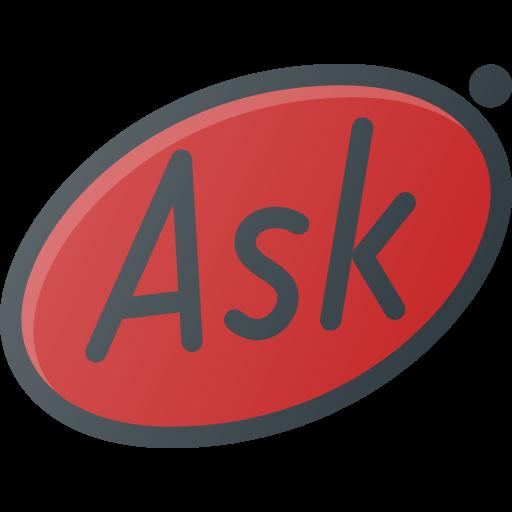 ask, brand, brands, logo, logos icon