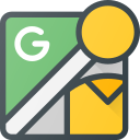 brand, brands, google, logo, logos, streetview icon