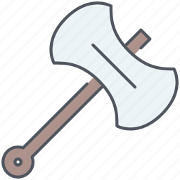axe, battle, blade, kingdom, royalty, war, weapon icon