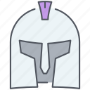 helmet, kingdom, knight, protection, royalty, war, weapon icon