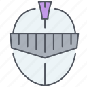 castle, freelance, helmet, kingdom, knight, protection, royalty icon