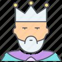 king, crown, kingdom, monarch, prince, royalty, tsar icon