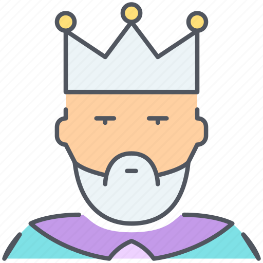 crown, king, kingdom, monarch, prince, royalty, tsar icon