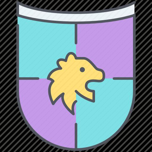 coat, coat of arms, emblem, flag, kingdom, lion, nation icon