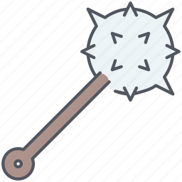 battle, mace, maceman, medieval, spikes, war, weapon icon