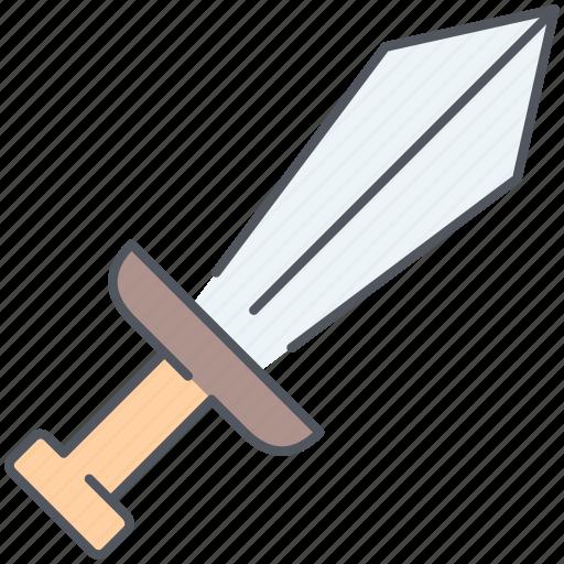 battle, blade, kingdom, medieval, sword, war, weapon icon
