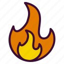 burn, burned, calories, fire, metabolism icon