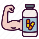 care, dietary, health, medical, supplement, vitamins icon