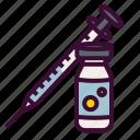 injection, insulin, medical, medicinal, syringe